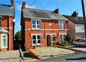 Thumbnail 2 bed semi-detached house for sale in New Road Chiseldon, Swindon