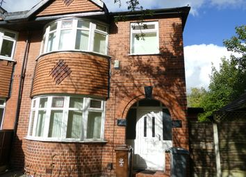 5 bed semi-detached house to rent in Mauldeth Road, Withington, Manchester M20