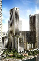 Thumbnail 2 bed flat for sale in Park Drive, Canary Wharf