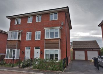 Thumbnail 4 bed town house for sale in Jack Sadler Way, Exeter