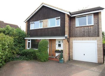 Thumbnail 4 bed detached house for sale in Lindsay Close, Epsom