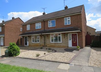 Thumbnail 4 bed semi-detached house for sale in Swale Avenue, Peterborough