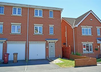 Thumbnail 3 bed semi-detached house for sale in Kingfisher Way, Scunthorpe