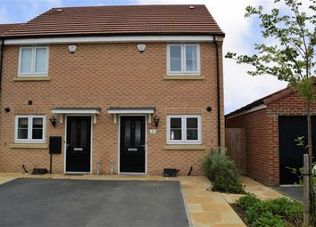 Thumbnail 2 bedroom end terrace house for sale in Privet Drive, Thorpe Willoughby