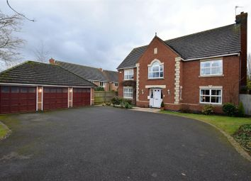 Thumbnail 5 bed detached house for sale in Alsthorpe Road, Oakham