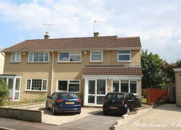 Thumbnail 4 bed semi-detached house for sale in Stonehouse Close, Combe Down, Bath