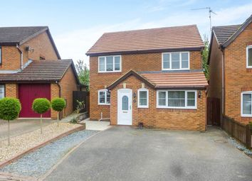 Thumbnail 4 bedroom detached house for sale in Hatfield Close, Wellingborough