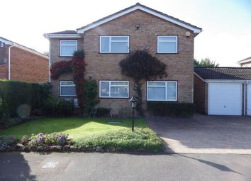Thumbnail 5 bed detached house to rent in Browning Drive, Eaton Ford, St. Neots