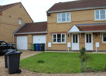 Thumbnail 2 bed semi-detached house to rent in Eastholm, Lincoln