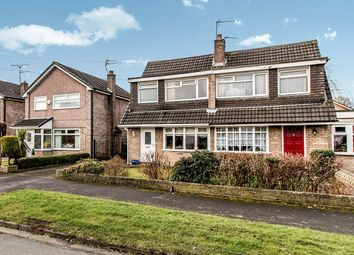 Thumbnail 3 bed semi-detached house for sale in Redesmere Close, Timperley, Altrincham