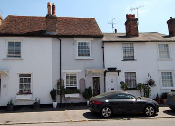 Thumbnail 2 bed terraced house to rent in Newbiggen Street, Thaxted, Dunmow, Essex