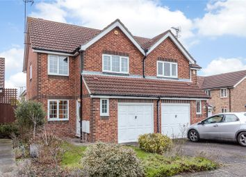 Thumbnail 3 bed semi-detached house for sale in Nottingham Way, Langdon Hills, Essex