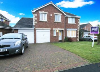 Thumbnail 4 bed detached house for sale in Lapwing Road, Hartlepool