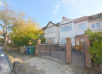 Thumbnail 4 bedroom terraced house to rent in Park Road, Hendon, London