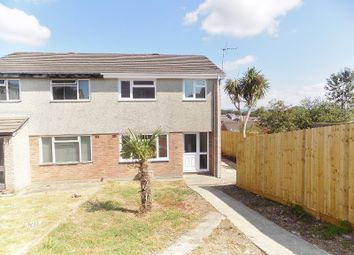 Thumbnail 3 bed semi-detached house for sale in Lon-Y-Bugail, Cefn Glas, Bridgend.