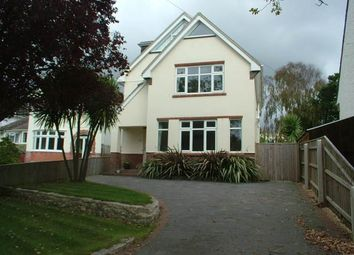 Thumbnail 4 bed detached house to rent in Austin Avenue, Lilliput, Poole