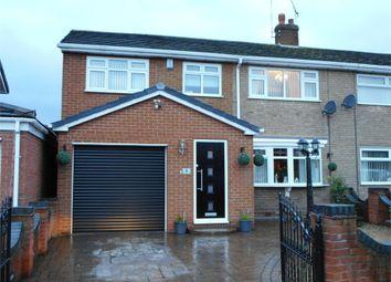Thumbnail 4 bed semi-detached house for sale in Bean Avenue, Worksop, Nottinghamshire