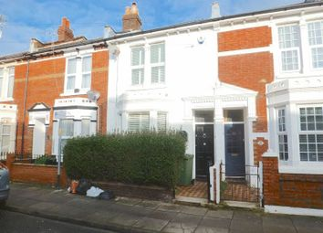 Thumbnail 3 bed terraced house for sale in Carisbrooke Road, Southsea