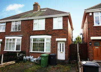 Thumbnail 3 bed semi-detached house for sale in Smorrall Lane, Bedworth, Warwickshire