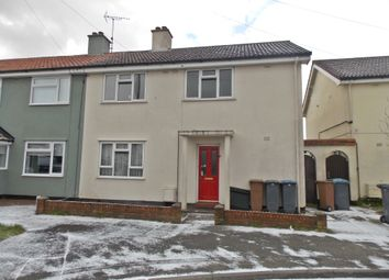 Thumbnail 4 bed semi-detached house for sale in Hall Pond Way, Felixstowe