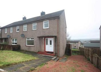 Thumbnail 3 bed semi-detached house for sale in Connel View, New Cumnock, Cumnock
