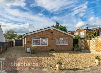 Thumbnail 3 bed detached bungalow for sale in Derby Road, Hoddesdon, Hertfordshire