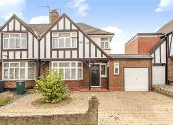 3 bed semi-detached house for sale in Hillside Gardens, Edgware, Middlesex HA8