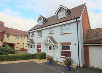 Thumbnail 3 bed town house to rent in Yarrow Close, Augusta Park, Andover