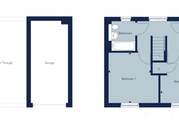 Thumbnail 2 bed semi-detached house for sale in Coxwell Road, Faringdon