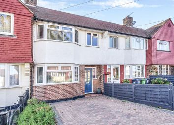 Thumbnail 3 bed terraced house for sale in Pembury Avenue, Worcester Park