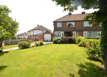 Thumbnail 3 bed semi-detached house for sale in Brownberrie Avenue, Horsforth, Leeds, West Yorkshire