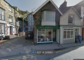 Thumbnail 1 bed flat to rent in High Street, Barmouth
