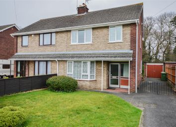 Thumbnail 3 bed semi-detached house for sale in Lady Lodge Drive, Orton Waterville, Peterborough