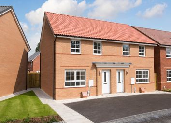 "Thumbnail 3 bed semi-detached house for sale in ""Maidstone"" at Beech Croft, Barlby, Selby"