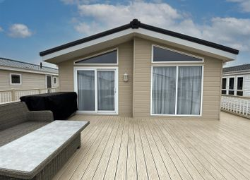 Thumbnail 3 bed mobile/park home for sale in Sea View Holiday Park, St. Johns Road, Whitstable
