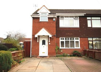 Thumbnail 3 bedroom semi-detached house for sale in Glaisdale Gardens, Wolverhampton