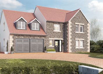 Thumbnail 5 bed detached house for sale in West Road, Lympsham