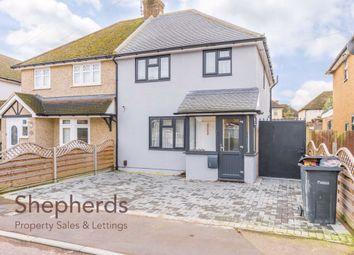 3 bed semi-detached house for sale in Westlea Road, Broxbourne, Hertfordshire EN10