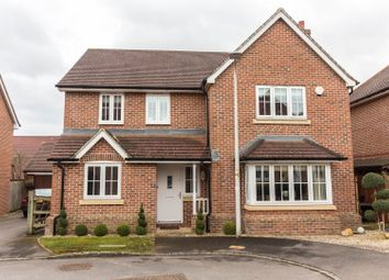 Thumbnail 4 bed detached house for sale in Grenadier Close, Shinfield, Reading