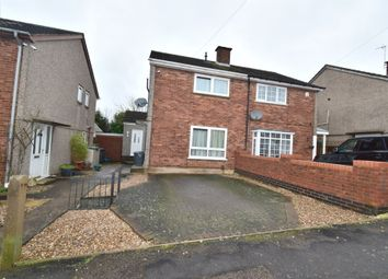 Thumbnail 2 bed semi-detached house for sale in Brook Road, Thurnby Lodge, Leicester