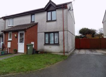 Thumbnail 3 bed semi-detached house to rent in Springfield Close, St. Austell
