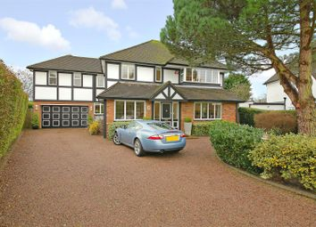 Thumbnail 5 bed detached house for sale in Canons Close, Radlett