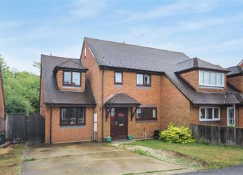 Thumbnail 4 bed semi-detached house for sale in Bishopdale Close, Nine Elms, Swindon