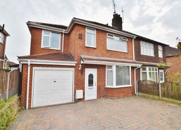 Thumbnail 4 bedroom semi-detached house for sale in Kensington Drive, Salford
