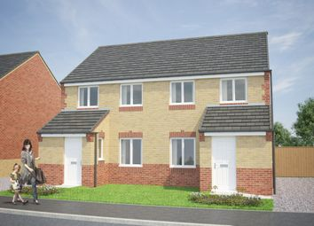 Thumbnail 3 bed semi-detached house for sale in The Wicklow, Shieldrow Park, Shieldrow Lane, New Kyo, Stanley, County Durham