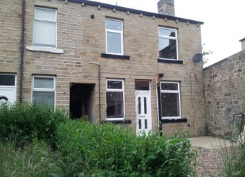 Thumbnail 2 bedroom terraced house to rent in Clough Road, Birkby, Huddersfield