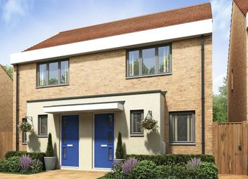 "Thumbnail 2 bed semi-detached house for sale in ""The Alnwick"" at Thomas Bata Avenue, East Tilbury, Tilbury"
