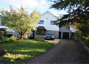 Thumbnail 4 bedroom detached house for sale in Millrace Close, Lisvane
