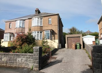Thumbnail 3 bed semi-detached house for sale in Oakfield Road, Plympton, Plymouth