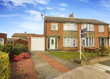 Thumbnail 3 bedroom semi-detached house to rent in Corbridge Avenue, Wideopen, Newcastle Upon Tyne